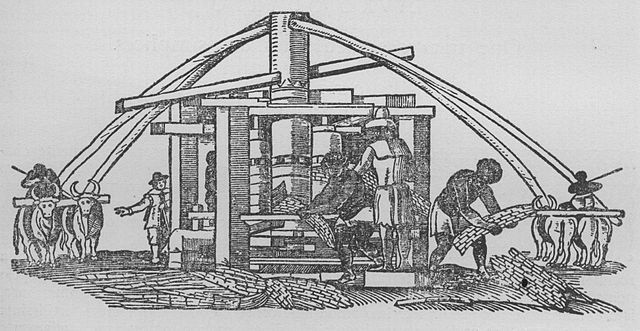 Sugar press, 1648, Guilherme Piso