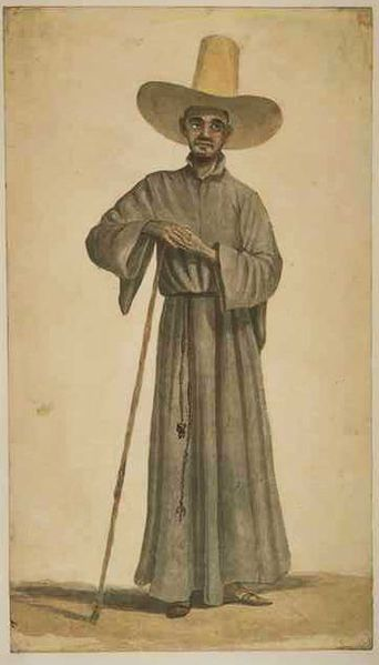 Jesuit father in Brazil, 18th century