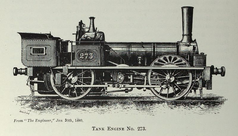 E.B. Wilson & Company built locomotive 1850