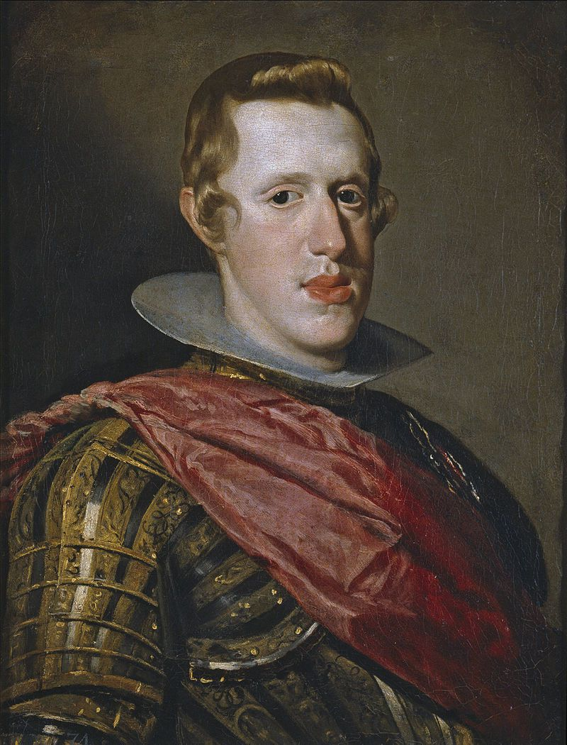 Phillip IV of Spain - Diego Velázquez
