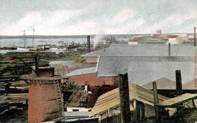 The Port of Asunción, 19th century © Bibloteca Virtual Miguel Cervantes