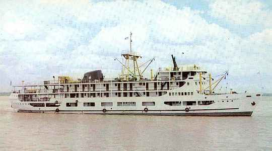 Amazon River steamer, Augusto Montenegro