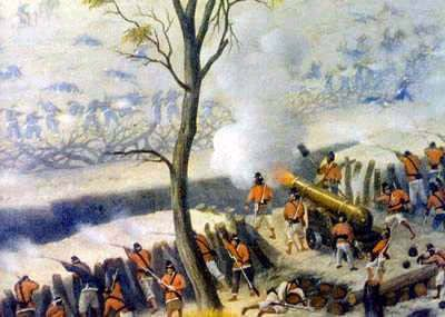 Battle of Curupaiti - Candido Lopez