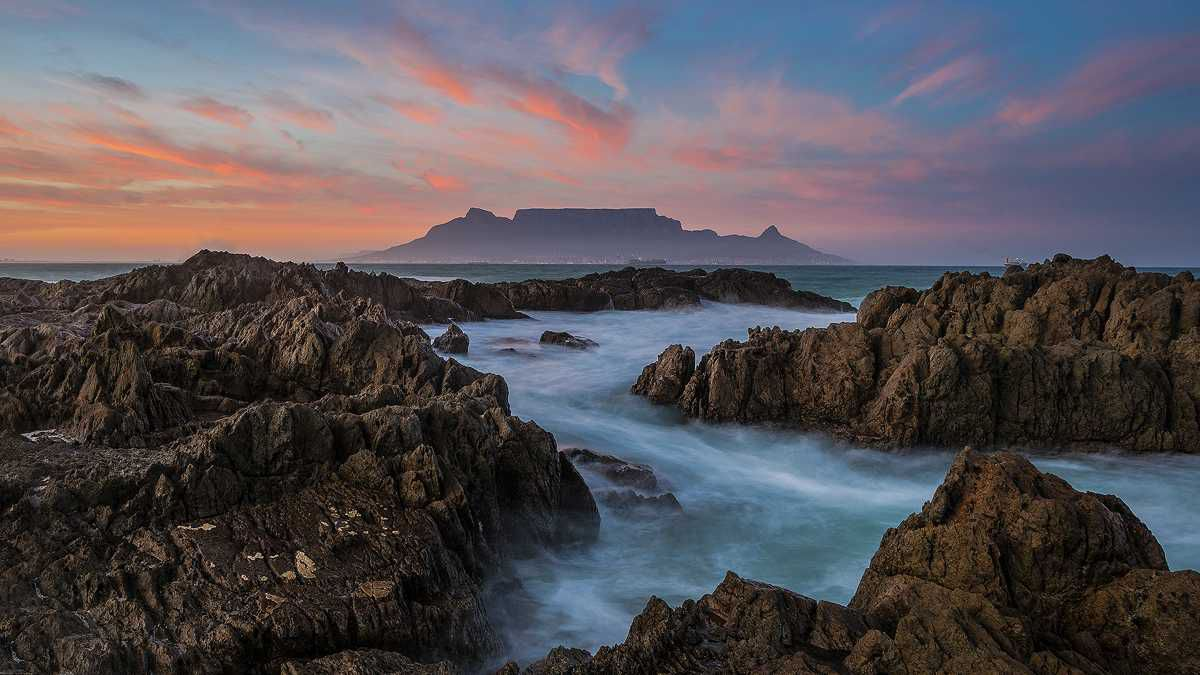 Table Mountain from the other side of Table Bay - Brendon Wainwright