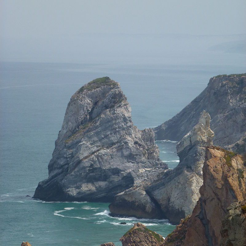 Cabo da Roca - The westernmost point of the European mainland (Portugal)