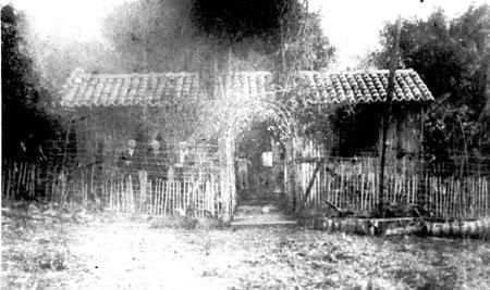 House of the first confederate family in Americana, Brazil - Norris family