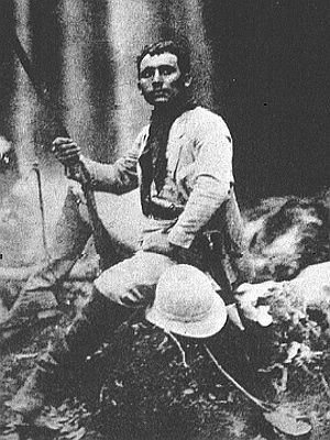 A young Cândido Rondon in the Amazon