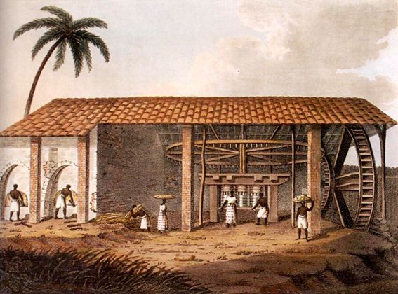 Brazilian engenho or plantation