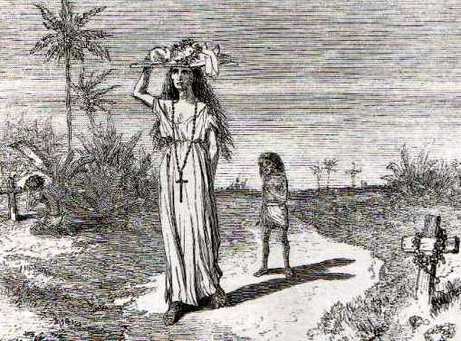 Paraguayan mother and child