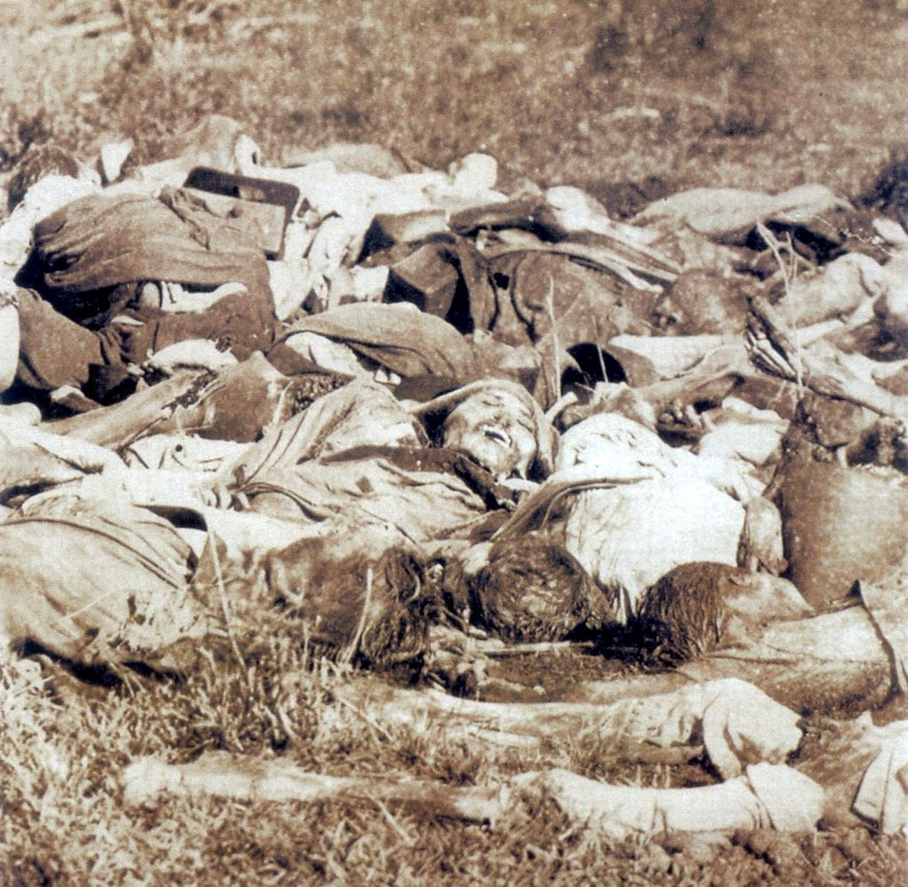 Paraguayan dead - War of the Triple Alliance