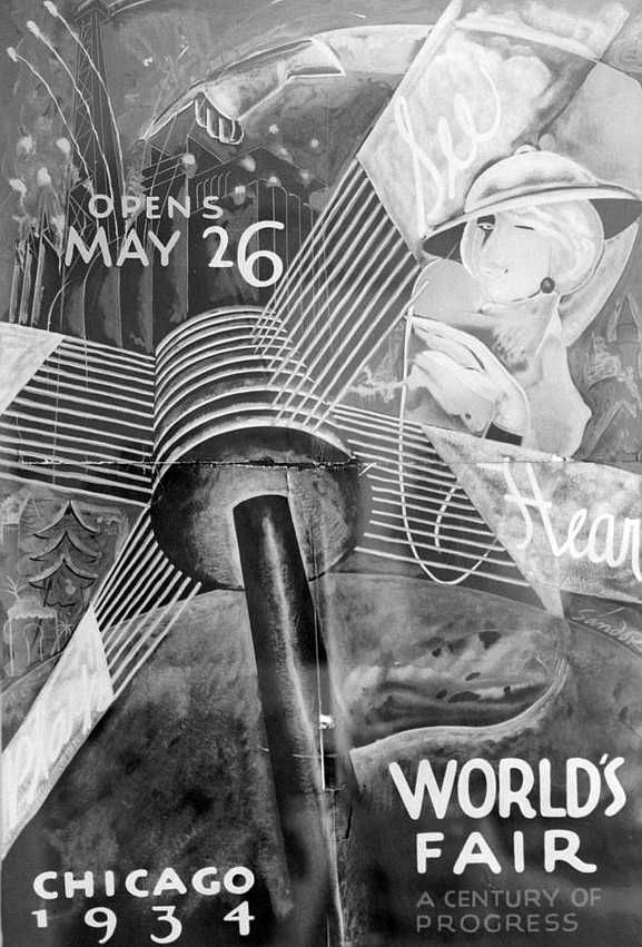 Chicago World's Fair 1934 - official poster
