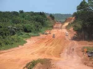 Trans-Amazon Highway construction