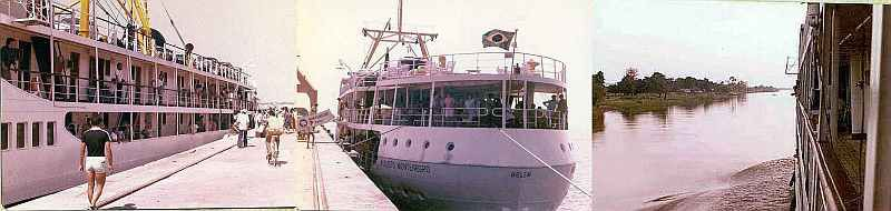 S.S. Augusto Montenegro, Amazon Voyage in 1981