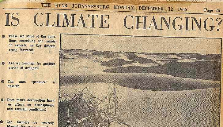 Is climate changing? - Star. Johannesbburg, 1966