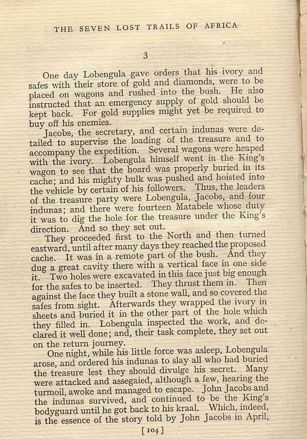 How Lobengula hid his treasure - Hedley Chilvers