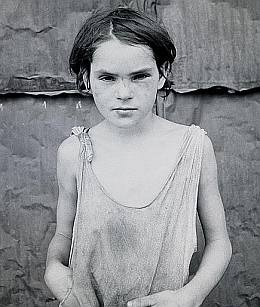 Child of the Great Depression from Library of Congress Collection