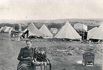 Boer War Camp Inmates, from Hobhouse, The Brunt  of the War, Metheun 1902