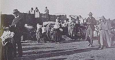 Boer War Concentration Camp Train
