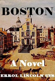 Boston Proposal for Novel Blog cover image