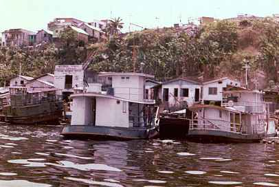 Manaus Small Boat Dock Brazil Uys