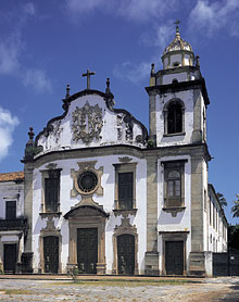Olinda Brazil Sao Bento Church