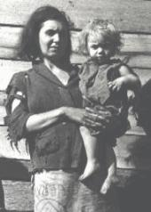 Mother and Child of the Great Depression