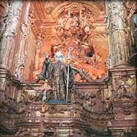 Olinda Brazil Sao Bento Church altar